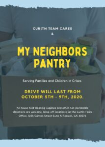 Curtin Team and My Neighbors Pantry